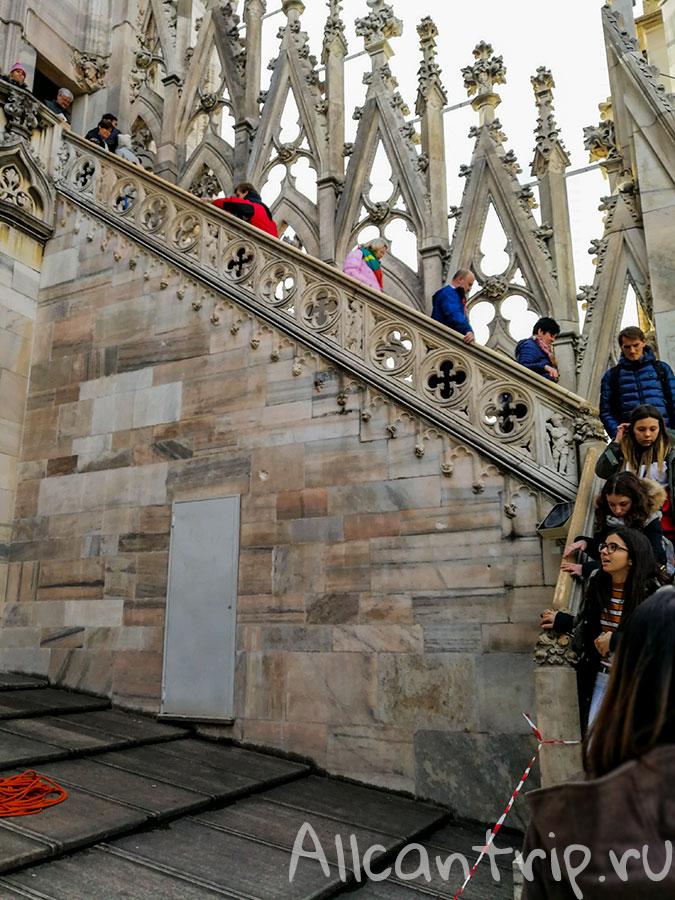 лестница на дуомский собор
