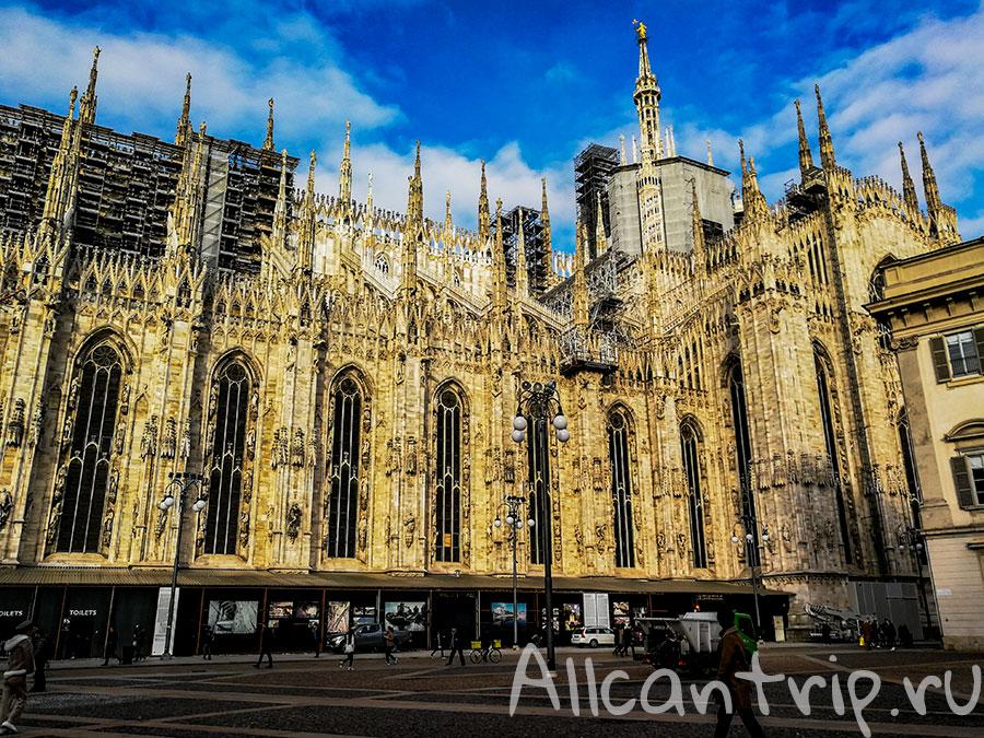 готический собор милан