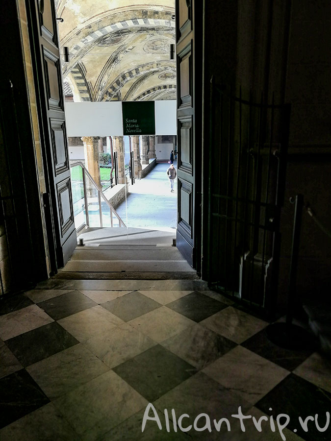 санта мария новелла во флоренции