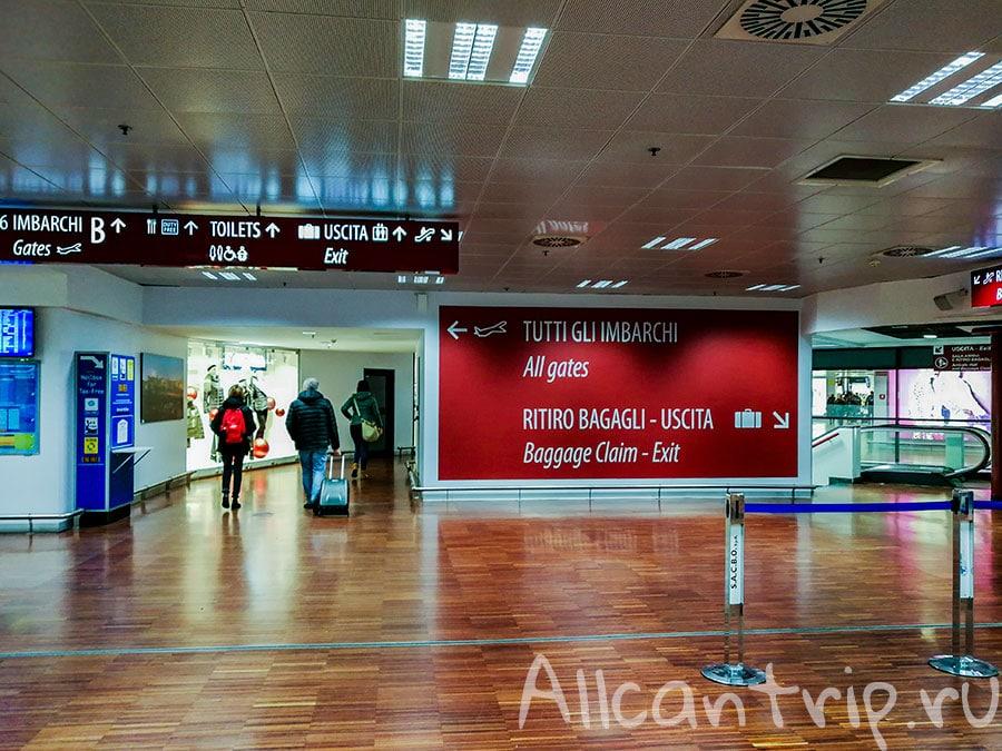 аэропорт бергамо в милане