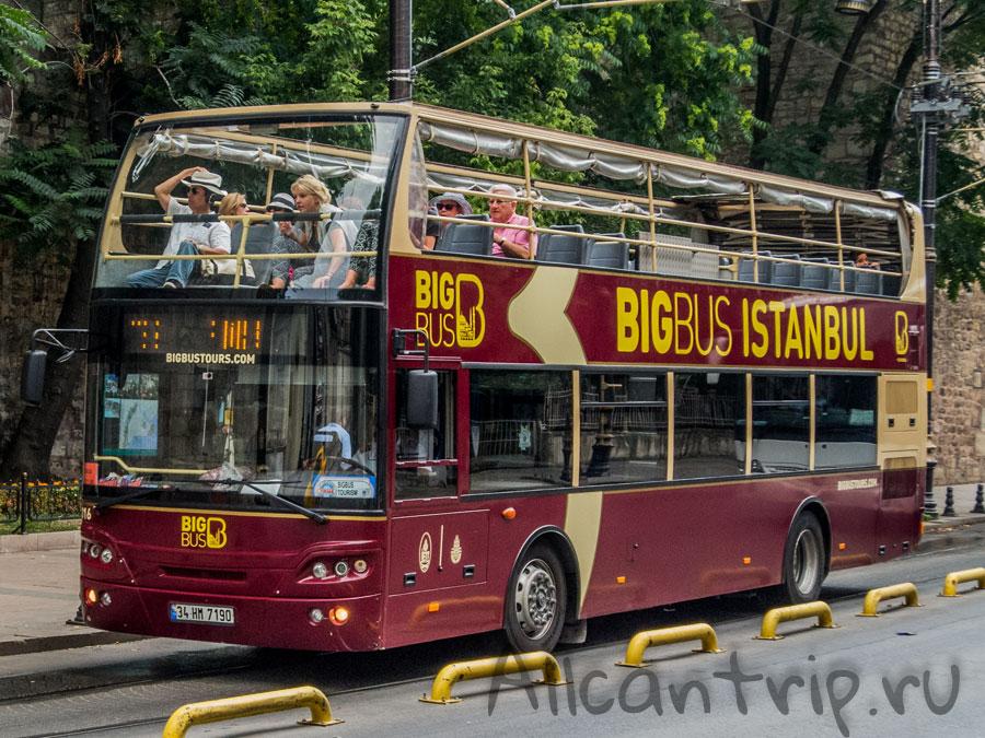 туристический автобус стамбул