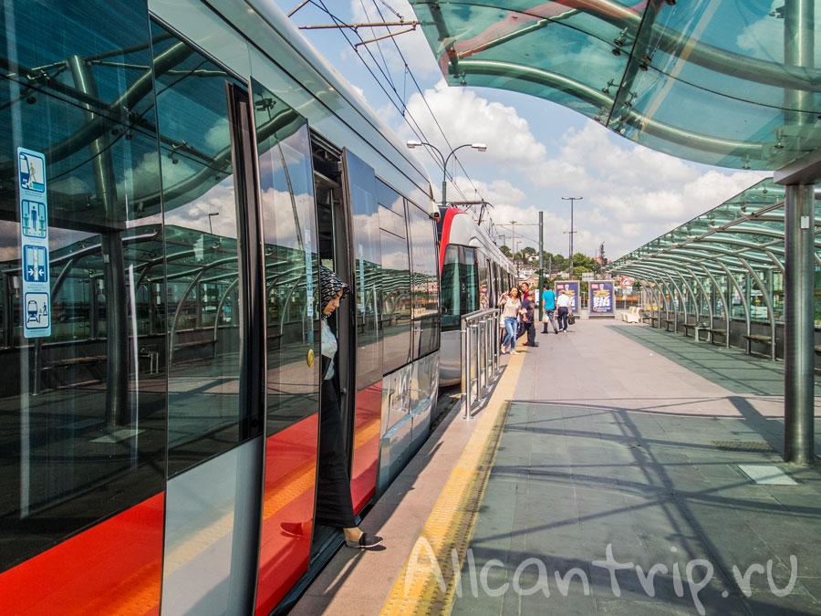 транспорт в стамбуле