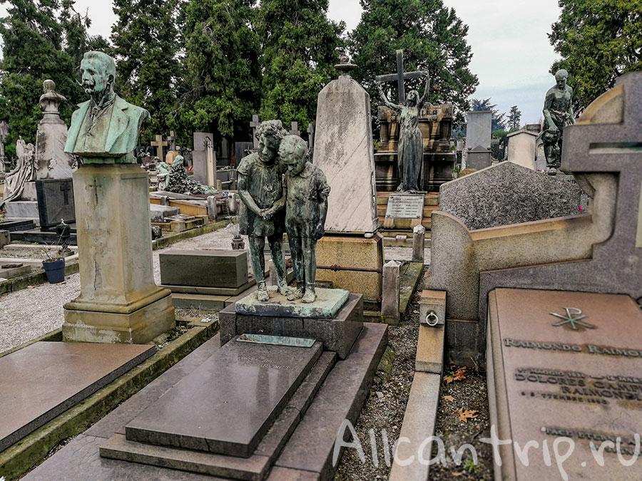 монументальное кладбище милана фото