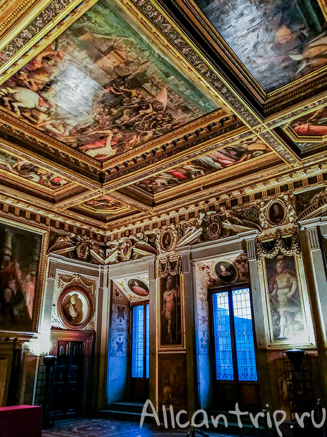 старый дворец Флоренция