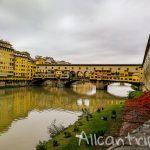 Мост Понте Веккьо во Флоренции – знаменитый мост с историей