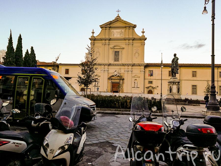 общественный транспорт Флоренции