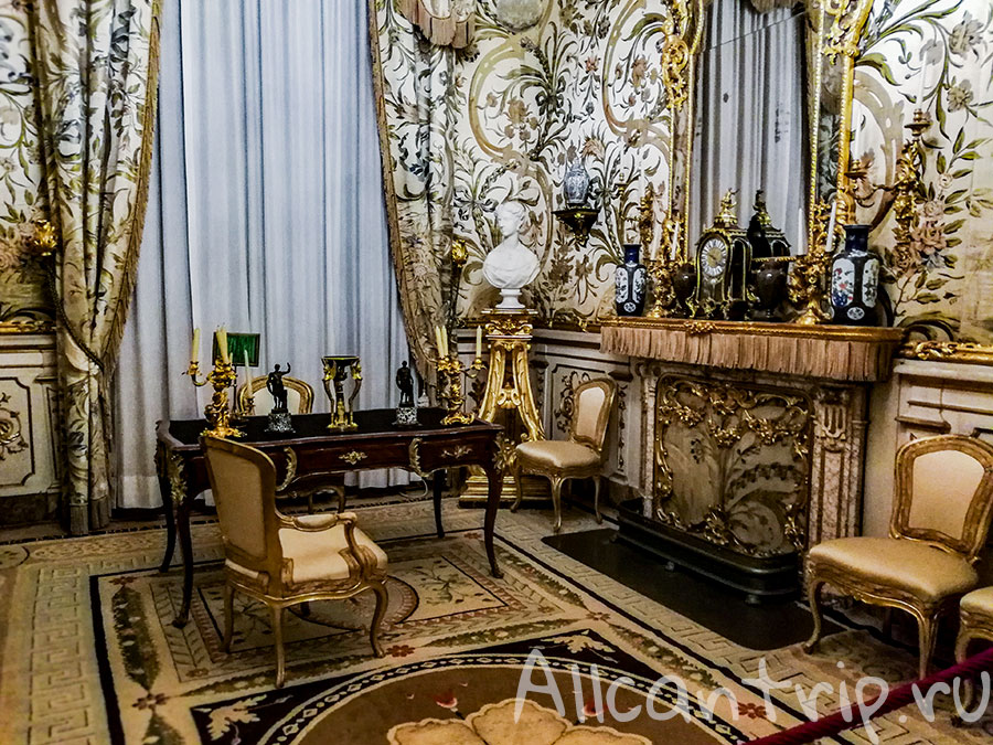 музей питти флоренция комнаты