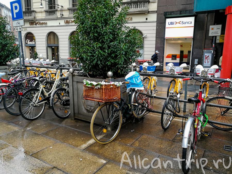аренда велосипеда в милане