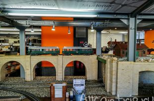 пивной ресторан с поездом прага