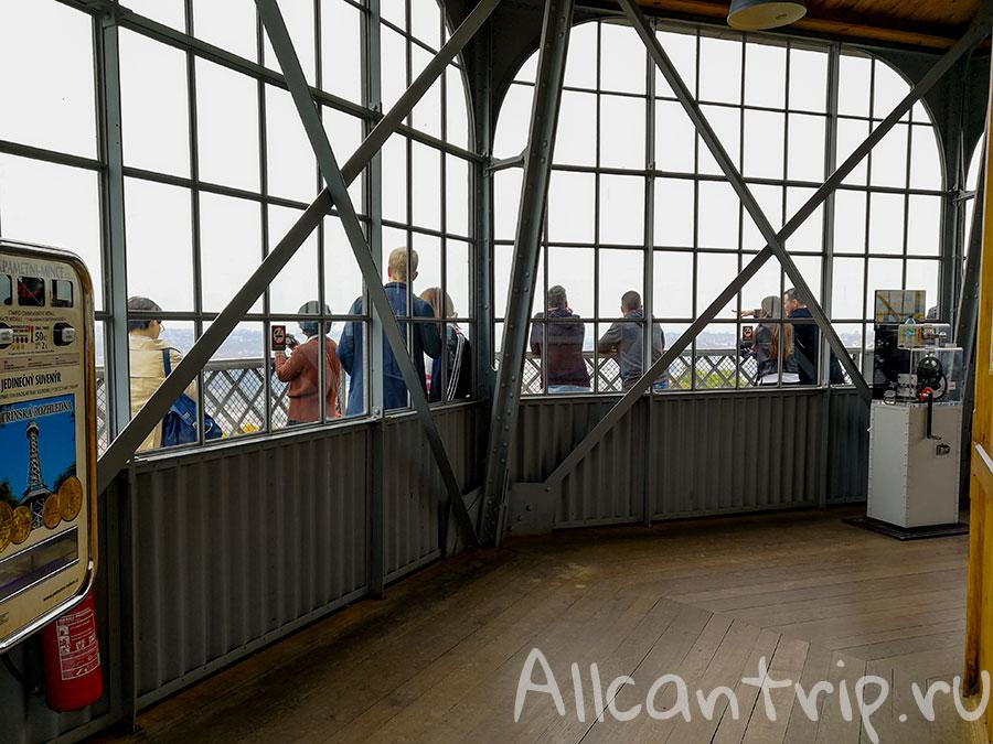 петршинская смотровая башня в праге