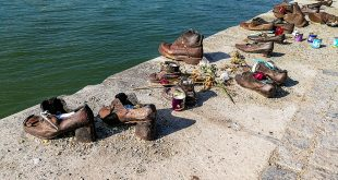 туфли на набережной дуная будапешт