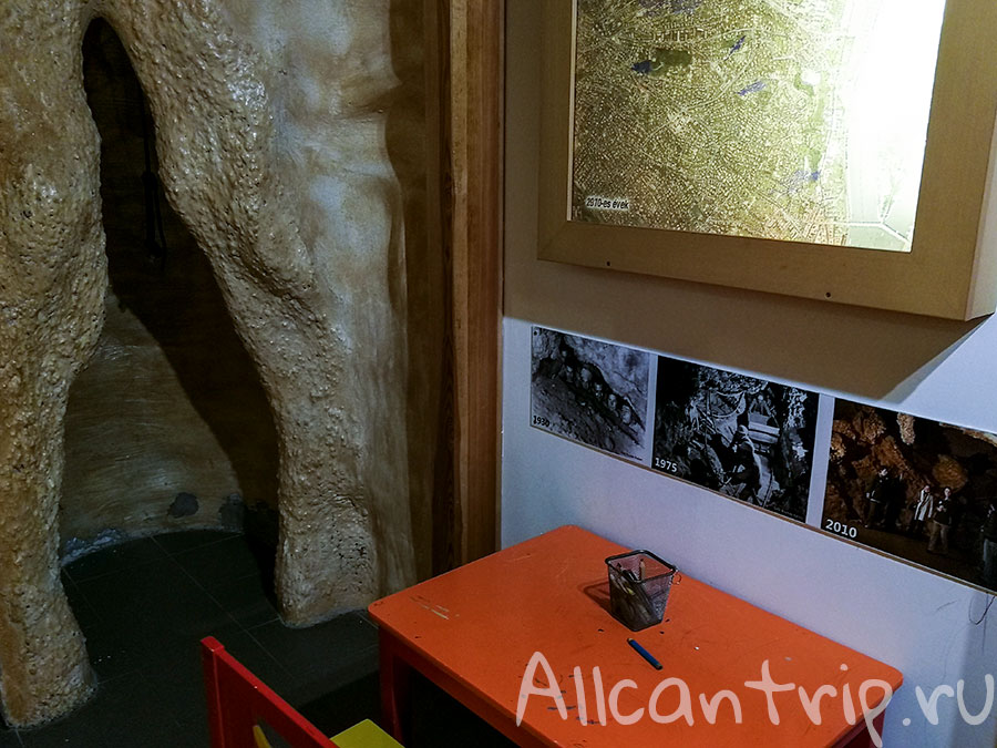 пещера семлехеди выставка