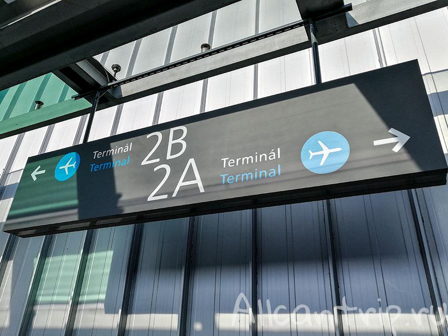 аэропорт Будапешта терминалы