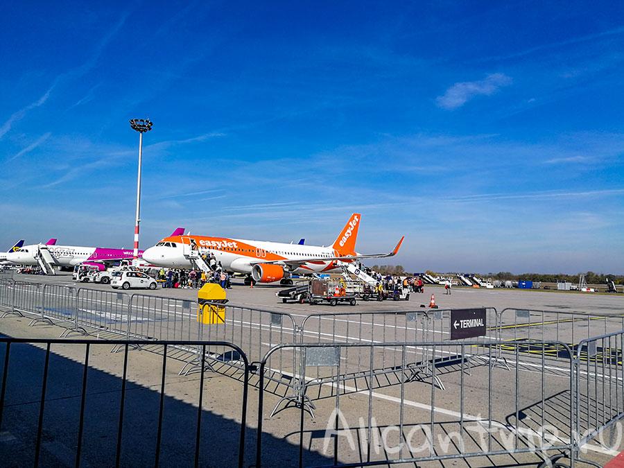 аэропорт Будапешта зона вылета