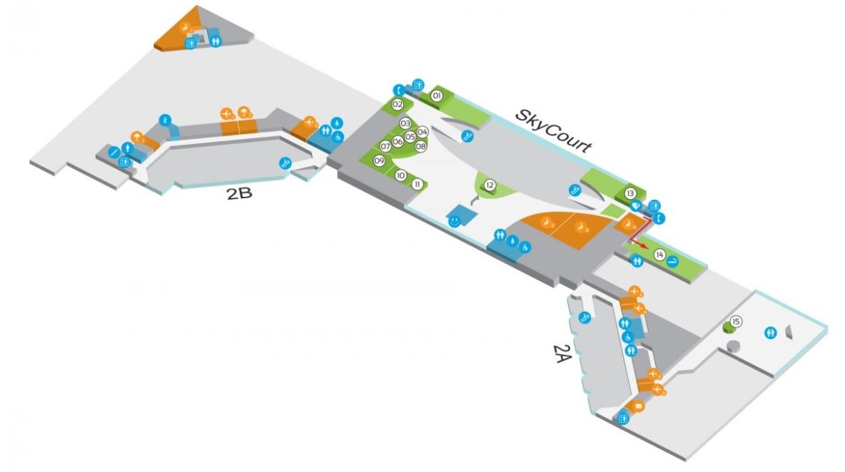 схема аэропорта будапешта