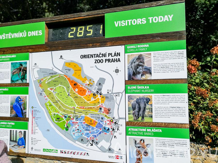 зоопарк праги схема