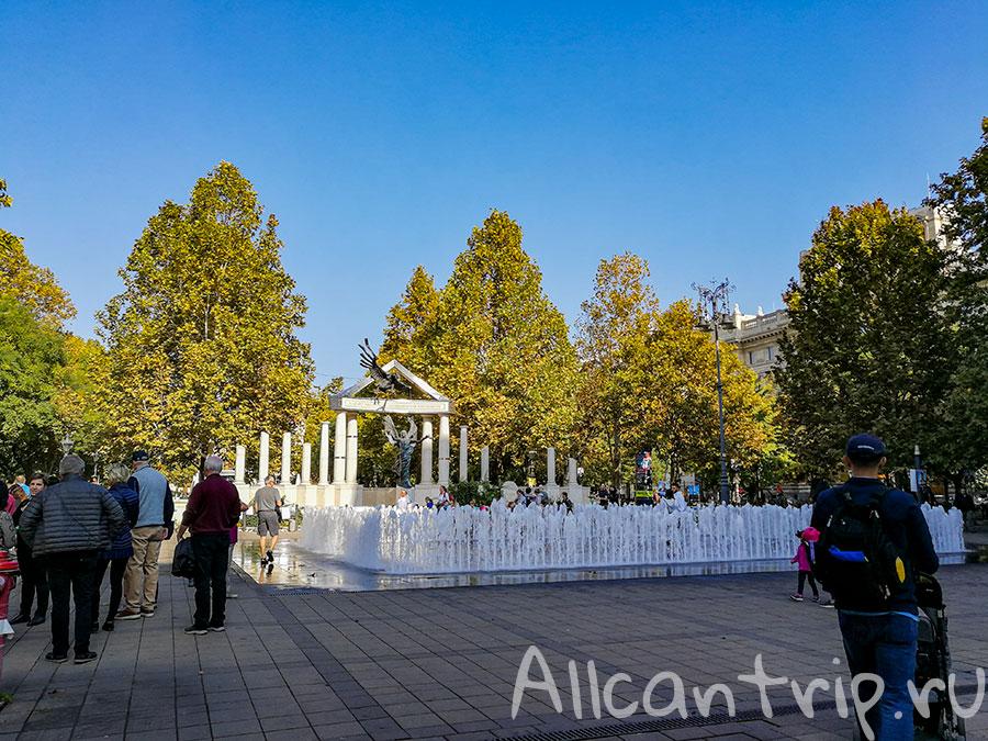 площадь свободы будапешт