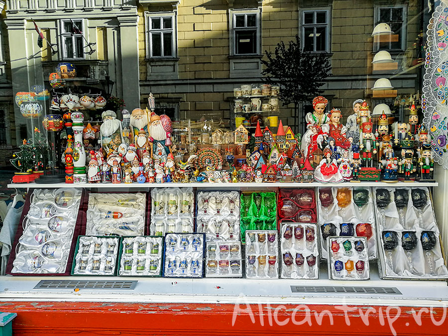 улица Ваци в Будапеште магазин