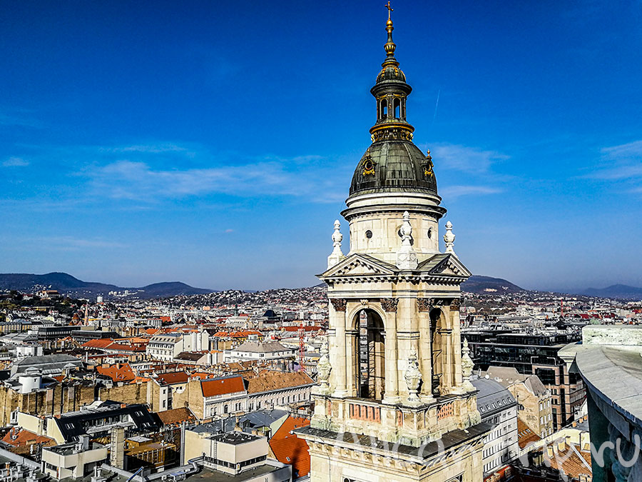 базилика святого иштвана виды на город