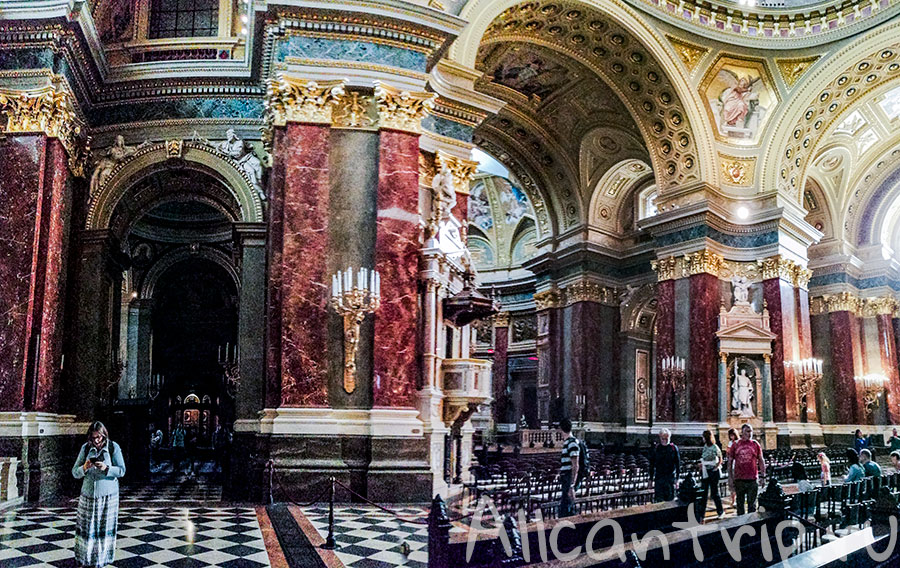 базилика святого иштвана внутри фото
