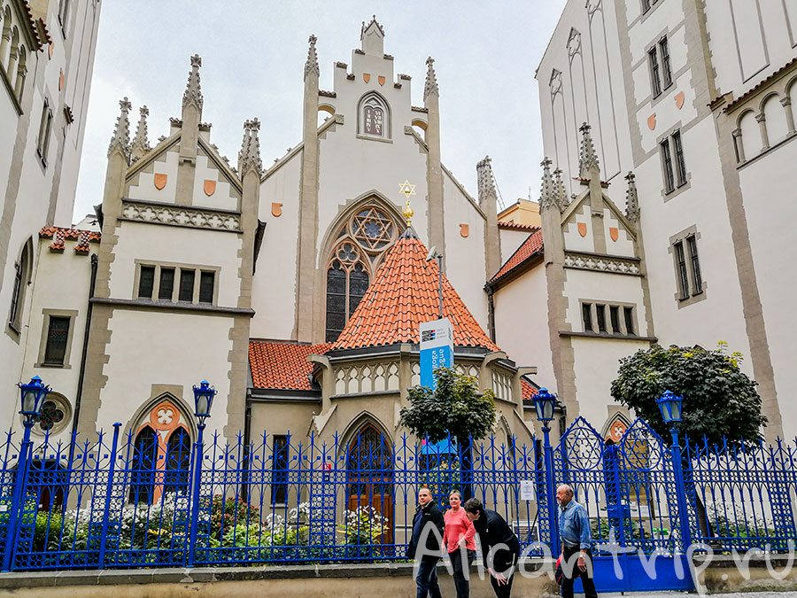 синагога в праге