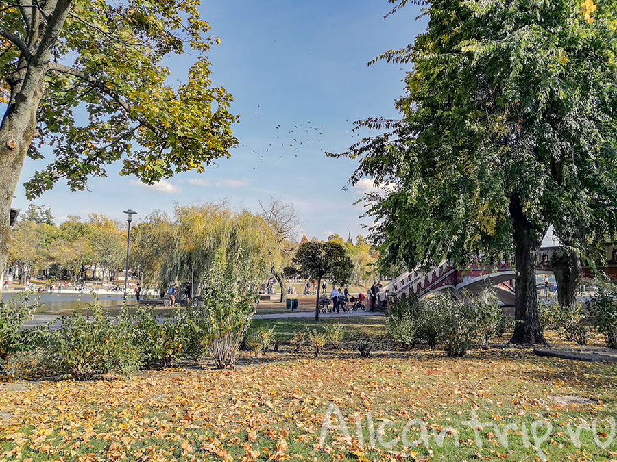 парк варошлигет будапешт