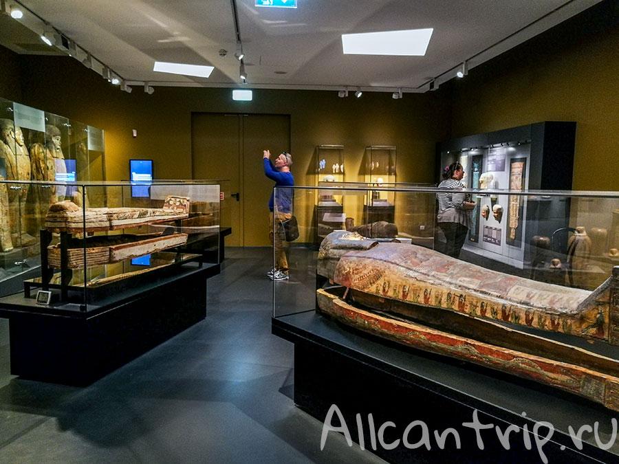 музей изобразительных искусств Будапешт мумии