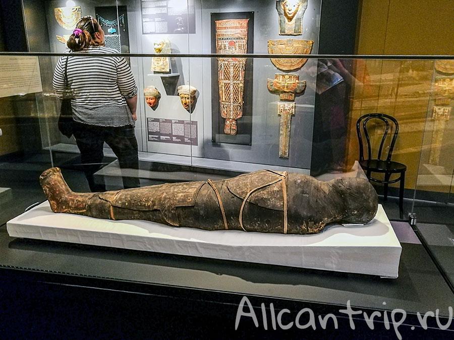 музей изобразительных искусств Будапешт мумия