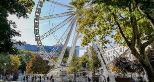 колесо обозрения Будапешт фото