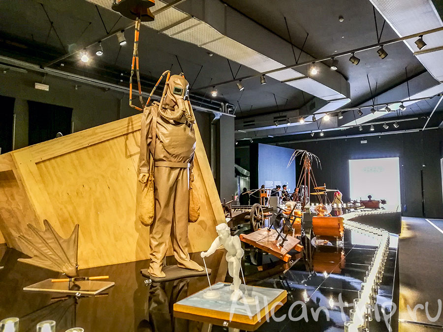 национальный музей науки и техники в милане да винчи