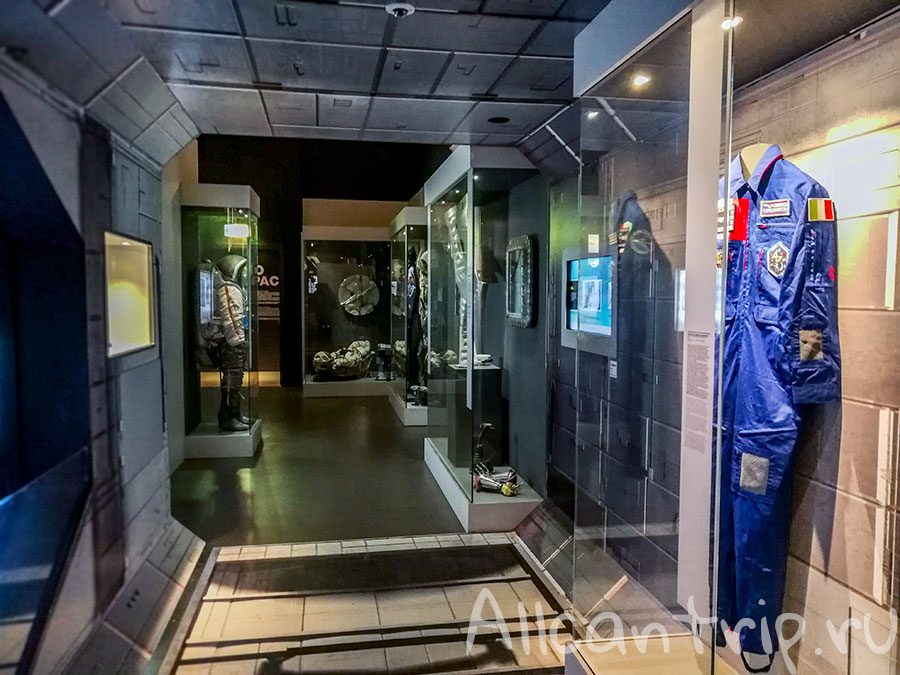 космическая выставка в милане