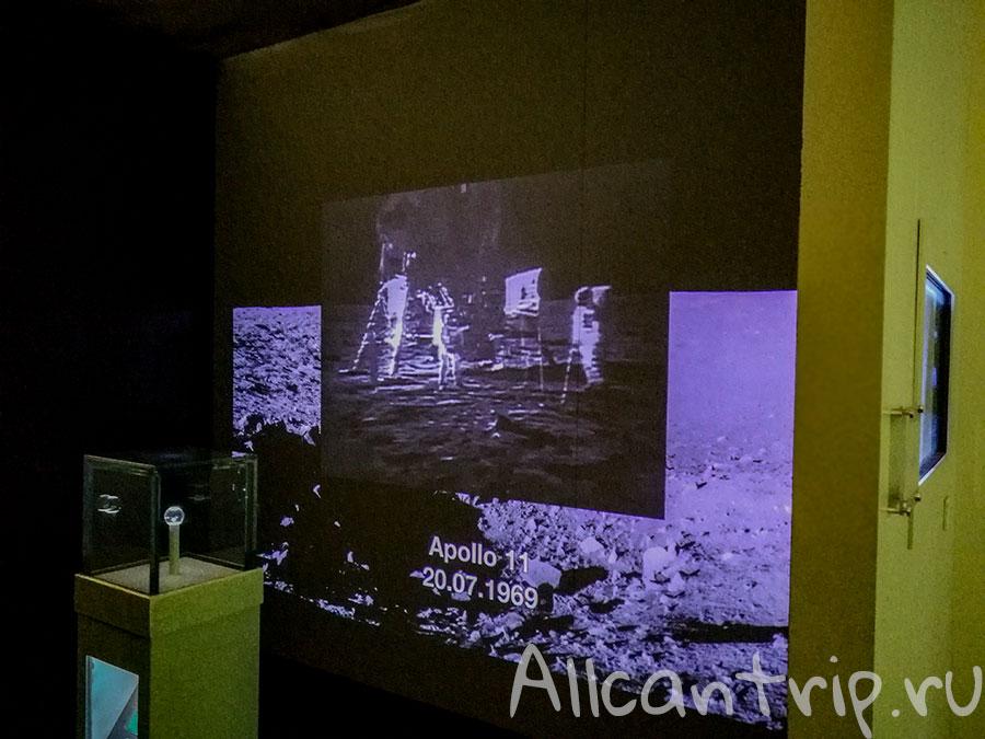 космический музей в милане
