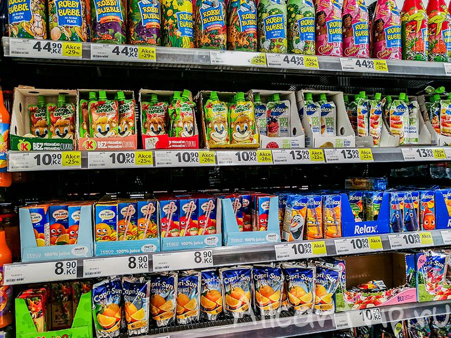 tesco в праге цены на еду