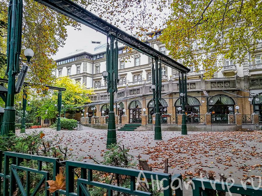 остров маргит будапешт отель