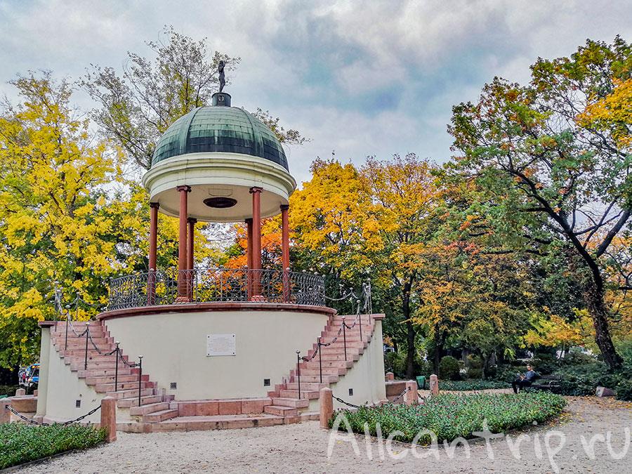 остров маргит будапешт поющий фонтан