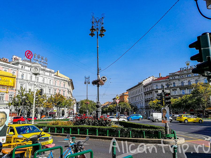 площадь Октогон Будапешт