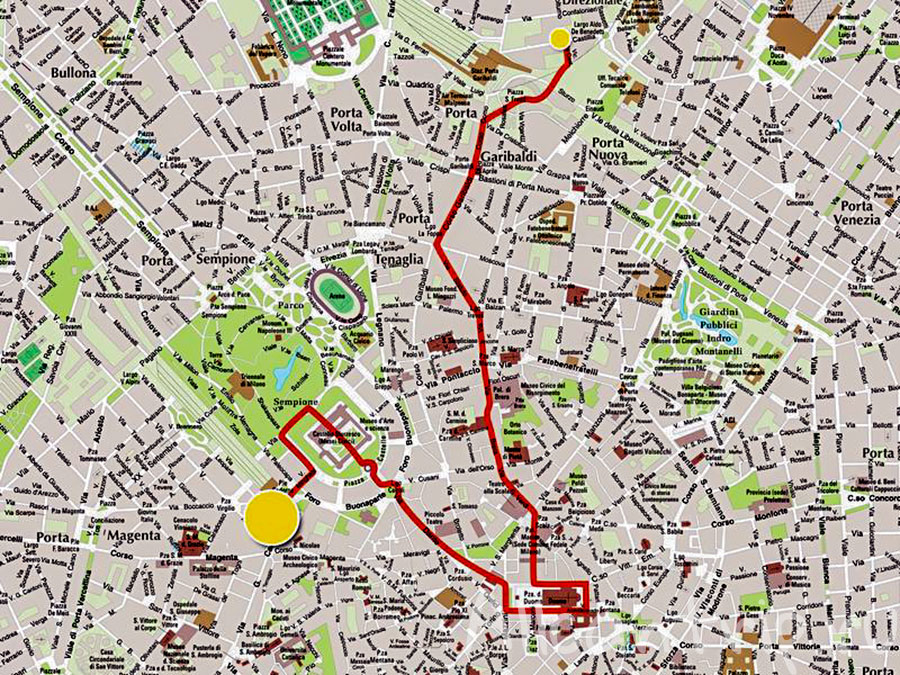 экскурсия по Милану маршрут