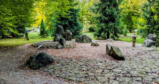 японский сад в карловых варах