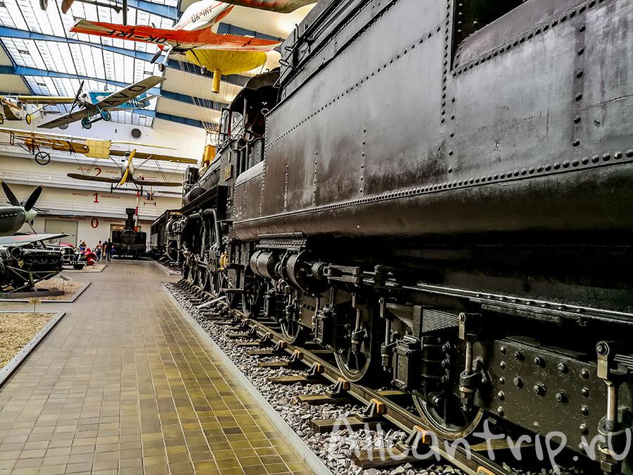 технический музей в праге паровоз