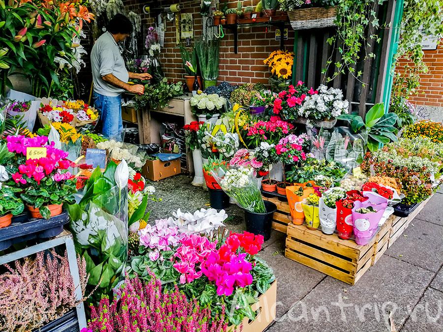 милан рынок навильи