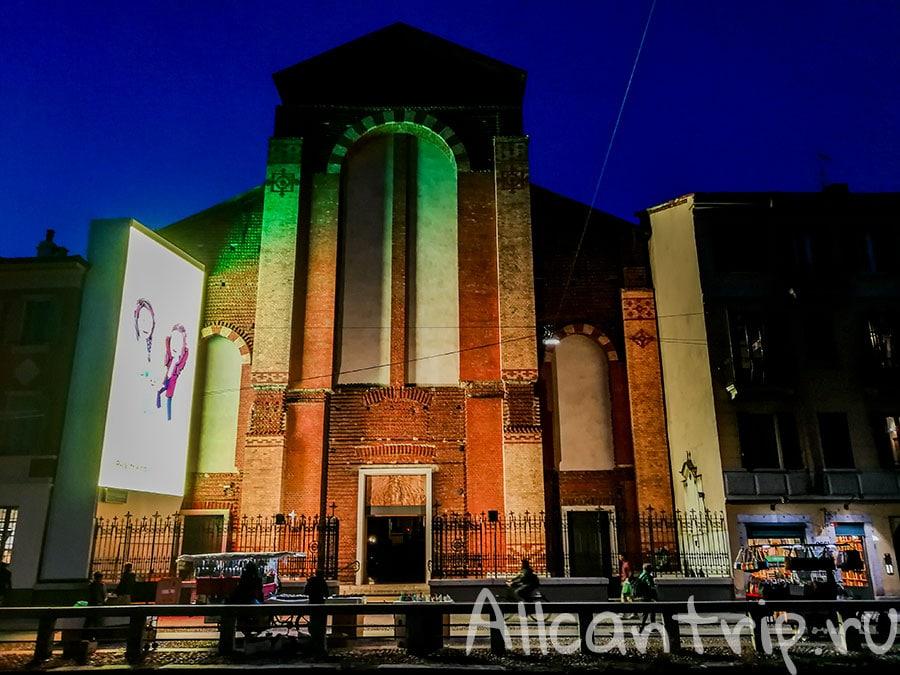 церковь в навильи