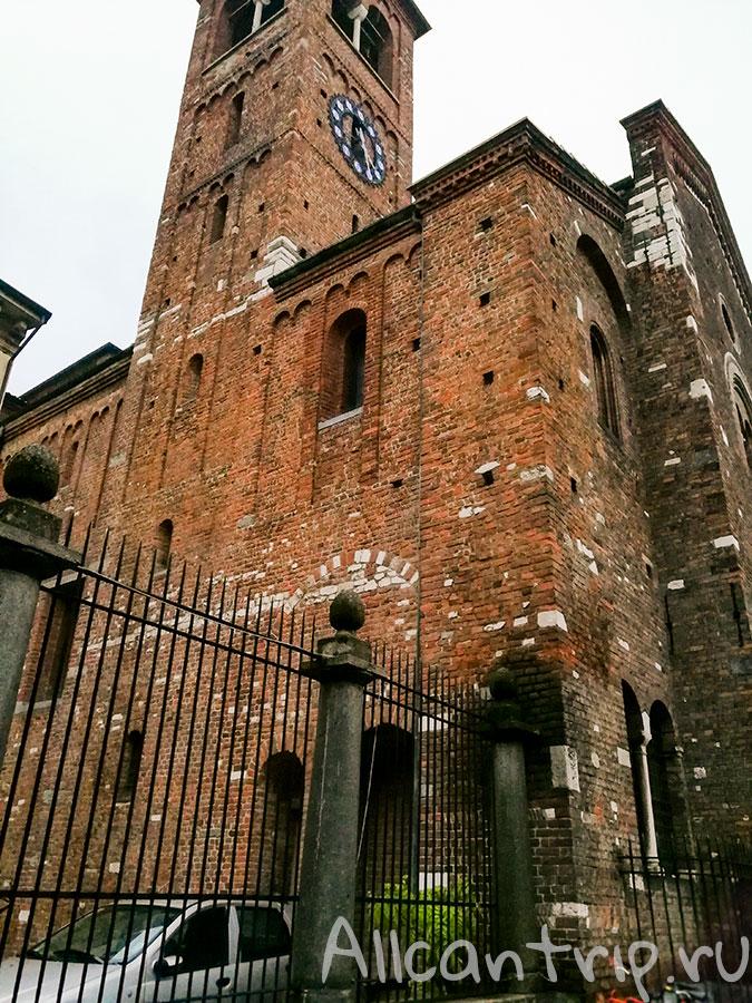 церковь Сан Сеполькро в Милане
