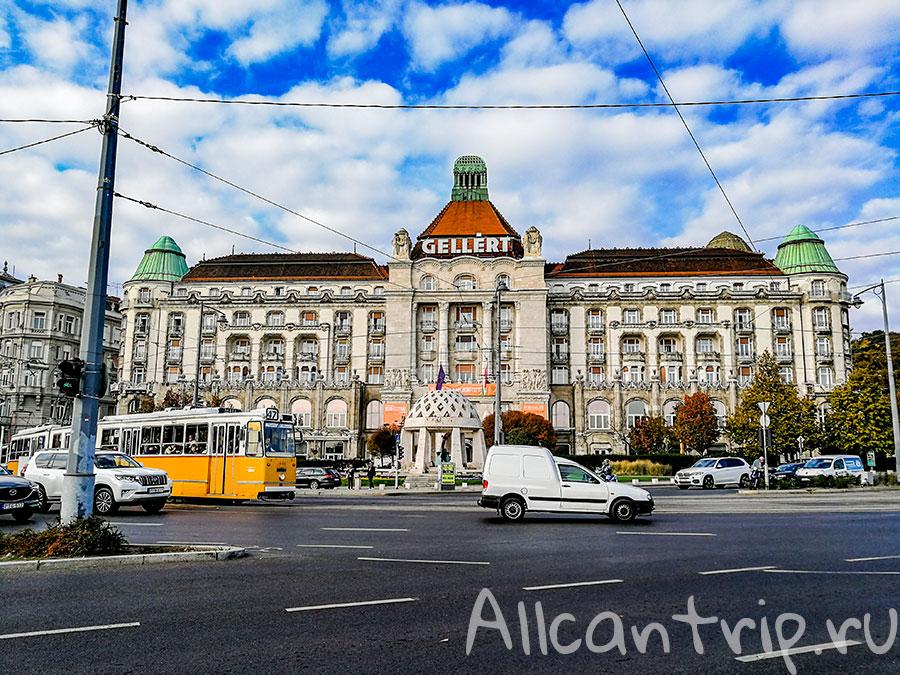 купальни геллерт в Будапеште