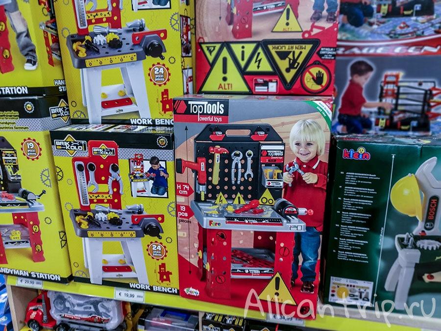 магазин игрушек в милане