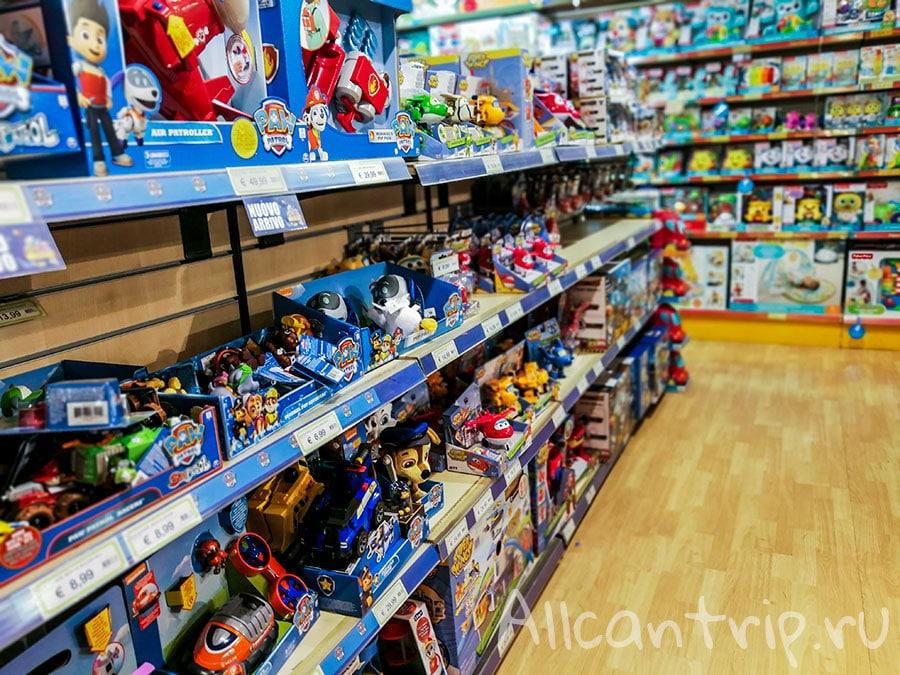 где купить игрушки в милане цены