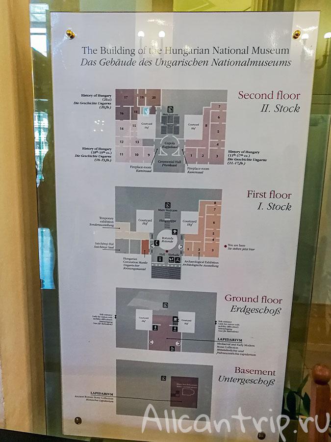 венгерский национальный музей схема