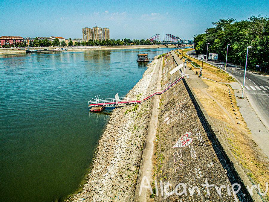 Варадинский мост нови сад