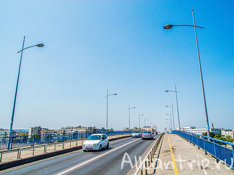 Варадинский мост достопримечательности Нови сад