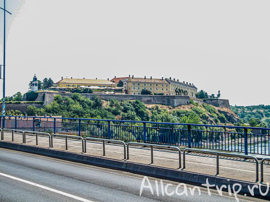 Варадинский мост на дунае